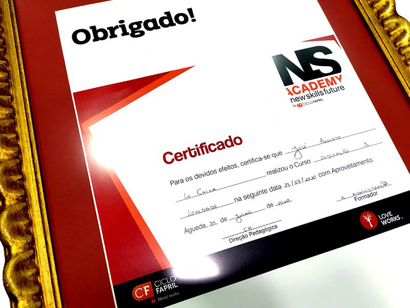 Certificado de Competências